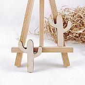 Материалы для творчества handmade. Livemaster - original item Plywood billet Cactus. Handmade.