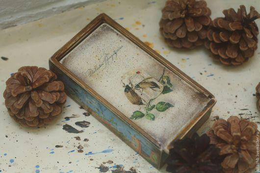 Шкатулки ручной работы. Ярмарка Мастеров - ручная работа. Купить Время майских жуков - 2. Handmade. Комбинированный, май, весенний
