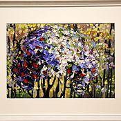"""Картины и панно ручной работы. Ярмарка Мастеров - ручная работа масло  """" Тайна"""". Handmade."""