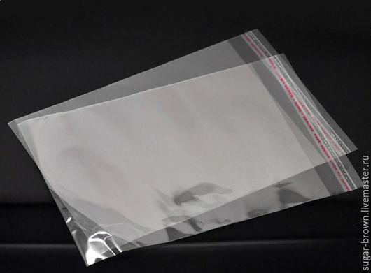 Пакет глянцевый с клеевым клапаном.
