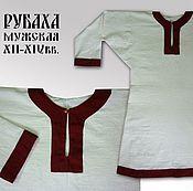 Русский стиль ручной работы. Ярмарка Мастеров - ручная работа Славянская рубаха. Handmade.