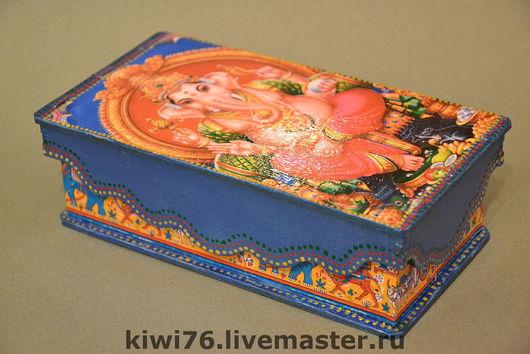 """Кухня ручной работы. Ярмарка Мастеров - ручная работа. Купить Чайная коробка """"Тот самый слон"""". Handmade. Чайная коробка"""