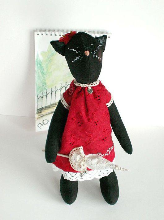 Куклы Тильды ручной работы. Ярмарка Мастеров - ручная работа. Купить Кошечка Тильда. Handmade. Кукла Тильда, Кошки, шитьё