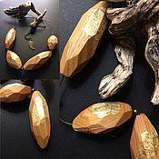 """Украшения ручной работы. Ярмарка Мастеров - ручная работа Колье """"Ясень"""" из дерева. Handmade."""