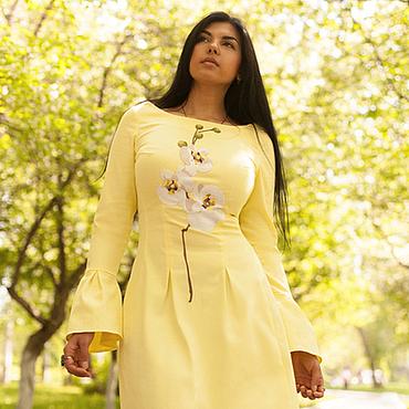Одежда ручной работы. Ярмарка Мастеров - ручная работа Платье мечты Солнечный цветок. Handmade.