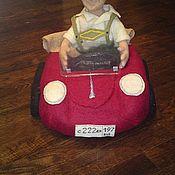 Куклы и игрушки ручной работы. Ярмарка Мастеров - ручная работа Портретная кукла из шерсти - Гонщик. Handmade.