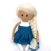 """Куклы и игрушки ручной работы. Ярмарка Мастеров - ручная работа Кукла. Кукла вязаная """"Лапочка"""". Вязаная кукла (куклы/куколки).. Handmade."""