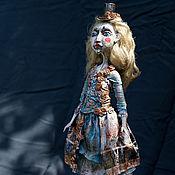 Куклы и игрушки ручной работы. Ярмарка Мастеров - ручная работа Шарлотта, цирковая кукла. Handmade.