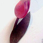 """Украшения ручной работы. Ярмарка Мастеров - ручная работа Брошь """"Тюльпан"""". Handmade."""
