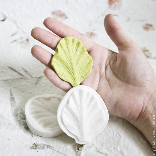 Лепесток каттлеи. Молд пищевой силикон двойной My Thai Материалы для флористики из Таиланда