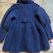 Одежда ручной работы. Ярмарка Мастеров - ручная работа Детское пальто-кардиган. Handmade.
