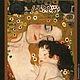 Мать и дитя, Густав Климт размер 19х15,5см