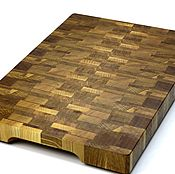 Для дома и интерьера handmade. Livemaster - original item End cutting Board №73. Handmade.