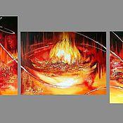 Картины и панно handmade. Livemaster - original item Fire. Handmade.