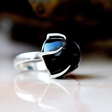 Украшения ручной работы. Ярмарка Мастеров - ручная работа Морион кольцо. Выполнено на заказ. Handmade.