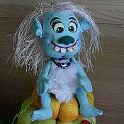 """Куклы и игрушки ручной работы. Ярмарка Мастеров - ручная работа """"Зубастик"""".Подвеска в машину.. Handmade."""