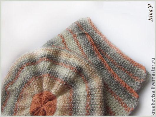 Береты ручной работы. Ярмарка Мастеров - ручная работа. Купить Беретка и шарф для женщины. Handmade. Однотонный, шарф, ручная работа