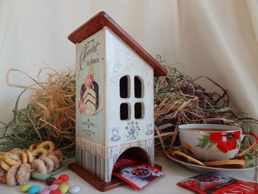 """Кухня ручной работы. Ярмарка Мастеров - ручная работа. Купить Чайный домик """" Chocolat de Paris"""". Handmade."""