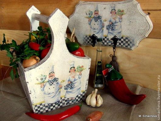 Кухня ручной работы. Ярмарка Мастеров - ручная работа. Купить Набор для кухни Семейный подряд. Handmade. Набор для кухни