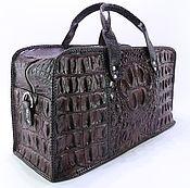 Сумки и аксессуары handmade. Livemaster - original item Road, sports bag crocodile IMA0659K1. Handmade.
