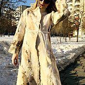 Пальто ручной работы. Ярмарка Мастеров - ручная работа Пальто: Валяное пальто «Ветер в голове..». Handmade.