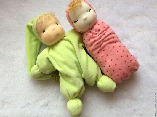 Вальдорфская игрушка ручной работы. Ярмарка Мастеров - ручная работа. Купить кукла-бабочка. Handmade. Куклы для детей, сплюшка