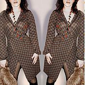 Одежда handmade. Livemaster - original item Knitted dress with the smell of Ryabinka. Handmade.