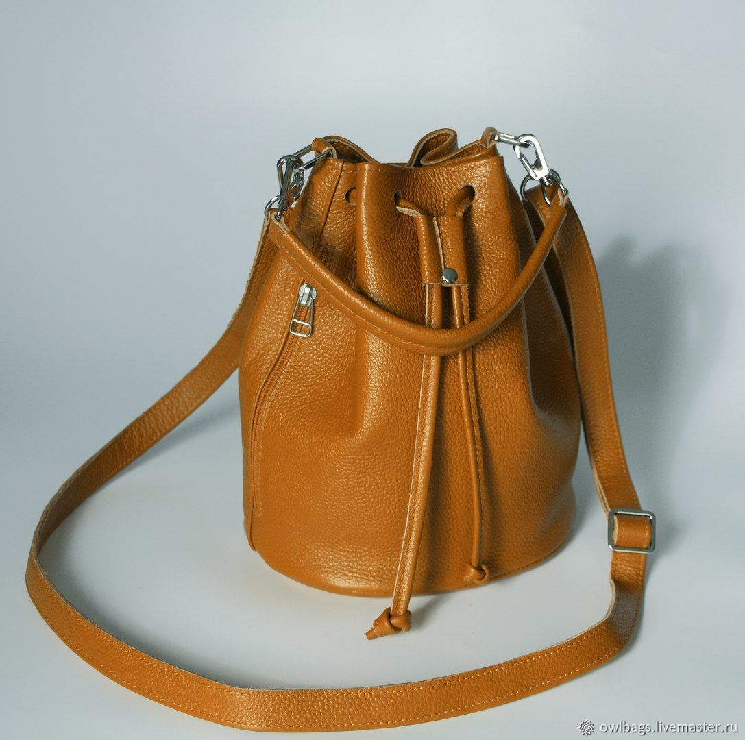 Кожаная сумка мешок ТОРБА, Сумка-мешок, Орск,  Фото №1