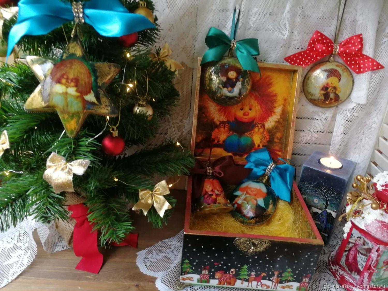 """Набор елочных игрушек """" Мир вашему дому"""", Наборы, Азов,  Фото №1"""