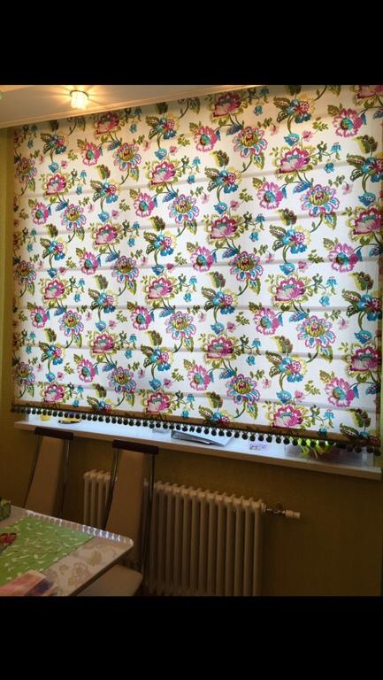 Текстиль, ковры ручной работы. Ярмарка Мастеров - ручная работа. Купить Римская штора. Handmade. Римская штора, шторы для спальни