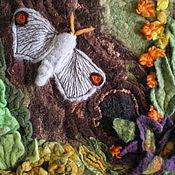 """Картины и панно ручной работы. Ярмарка Мастеров - ручная работа Панно """"Счастливый мотылёк"""". Handmade."""