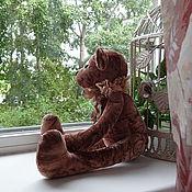 Куклы и игрушки handmade. Livemaster - original item Bear Velvet heart.. Handmade.