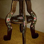 Столы ручной работы. Ярмарка Мастеров - ручная работа столик-подставка. Handmade.