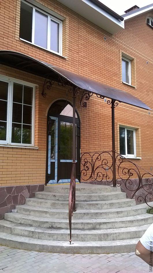 Навес крыльца - функциональное украшение     каждому дому -  необычное решение  nagreyisogni.com