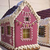 Пряники ручной работы. Ярмарка Мастеров - ручная работа Рождественский пряничный домик. Handmade.