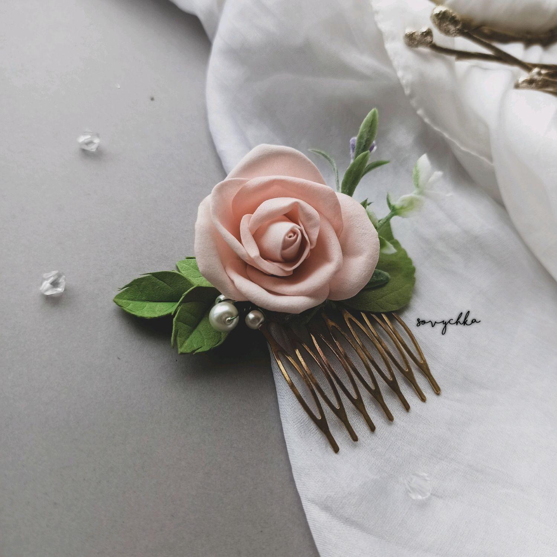 Гребень свадебный, Украшения в прическу, Острава,  Фото №1