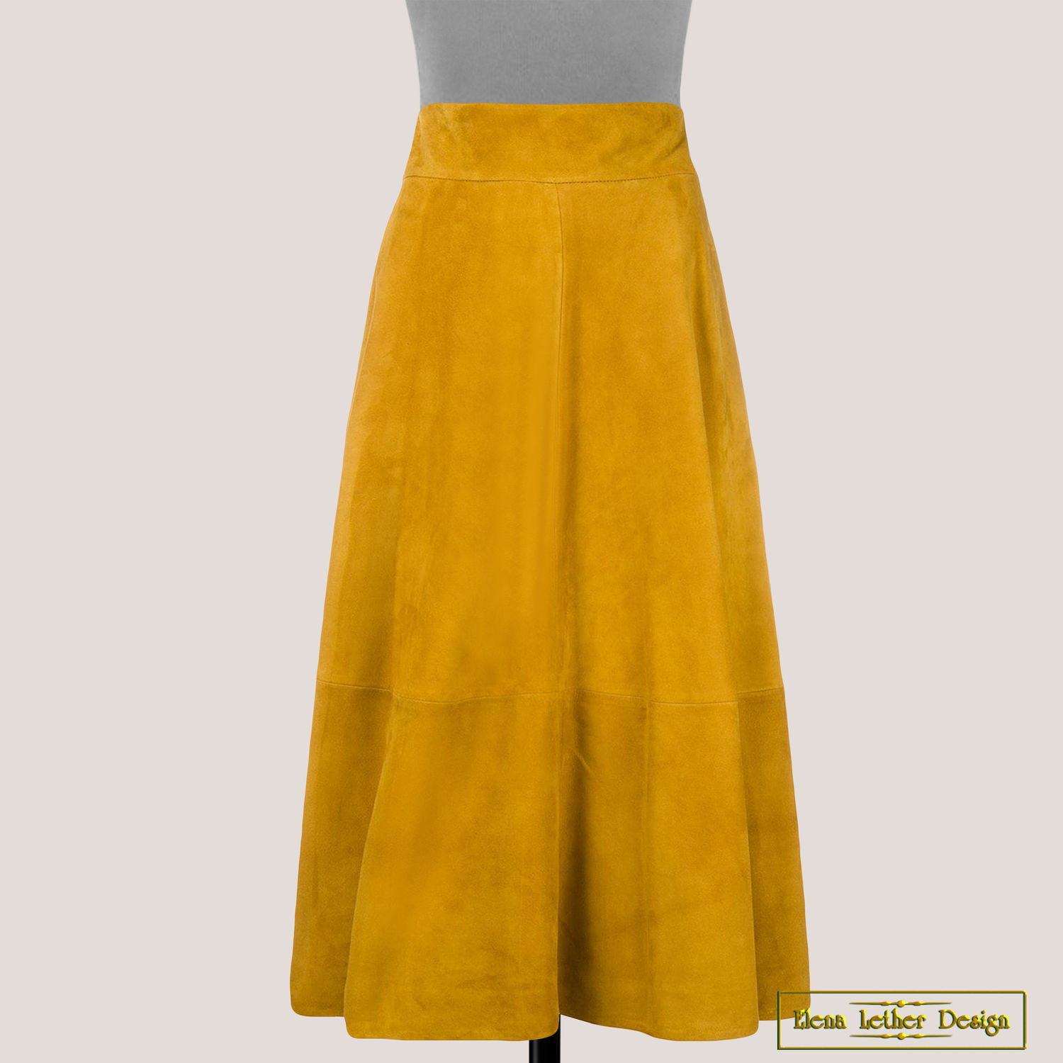 The skirt is a 'Broad belt' of genuine suede, Skirts, Rodniki,  Фото №1
