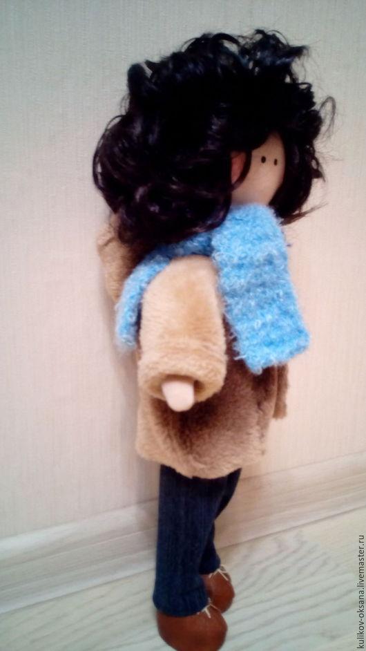 Человечки ручной работы. Ярмарка Мастеров - ручная работа. Купить кукла. Handmade. Кукла ручной работы, кукла интерьерная, кожа
