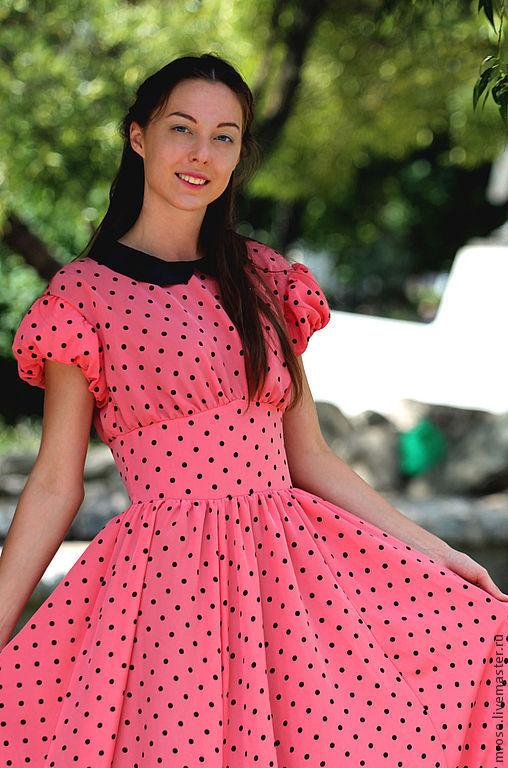 Платья ручной работы. Ярмарка Мастеров - ручная работа. Купить вечернее платье Карнавальная ночь. Handmade. Розовый, платье