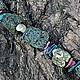 Колье, бусы ручной работы. Ярмарка Мастеров - ручная работа. Купить Ожерелье Улитка на склоне. Handmade. Авторские украшения, лес