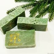 Косметика ручной работы handmade. Livemaster - original item Soap from scratch natural Coniferous forest. Handmade.