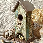 """Для дома и интерьера ручной работы. Ярмарка Мастеров - ручная работа """"Птичьи трели"""" Чайный домик. Handmade."""