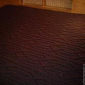 Для дома и интерьера ручной работы. Ярмарка Мастеров - ручная работа Плед Шоколад. Handmade.