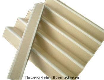 Папка для сушки цветов и листьев Очень удобное приспособление для просушивания ваших цветов и листье из полимерных глин. Плотный картон.