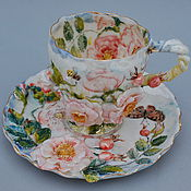 Посуда handmade. Livemaster - original item Decorative vase