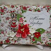 """Подарки к праздникам ручной работы. Ярмарка Мастеров - ручная работа Коробочка """"Мамины сокровища"""" для девочки. Handmade."""