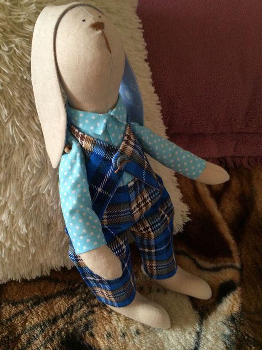 Куклы Тильды ручной работы. Ярмарка Мастеров - ручная работа. Купить Заяц в стиле Тильда. Handmade. Тильда заяц
