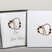 Wedding Salon handmade. Livemaster - original item Wedding photo album in box. Handmade.