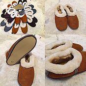 Обувь ручной работы. Ярмарка Мастеров - ручная работа Чувяки из овчины натуральной для мужчин.. Handmade.