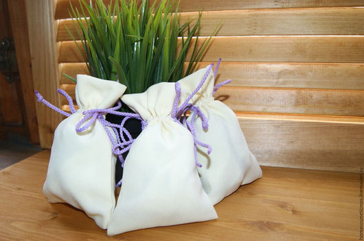 Упаковка ручной работы. Ярмарка Мастеров - ручная работа. Купить мешочки для трав, подарков, украшений. Handmade. Комбинированный, мешочки для трав